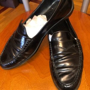 Tod's leather loafers shoes